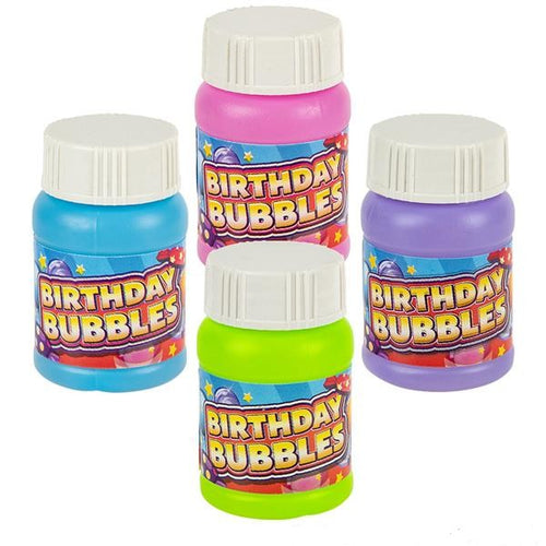 Happy Birthday Bubbles 1 oz 24 pk