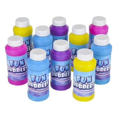Bubble Bottles Assortment 4 oz. 12 pk