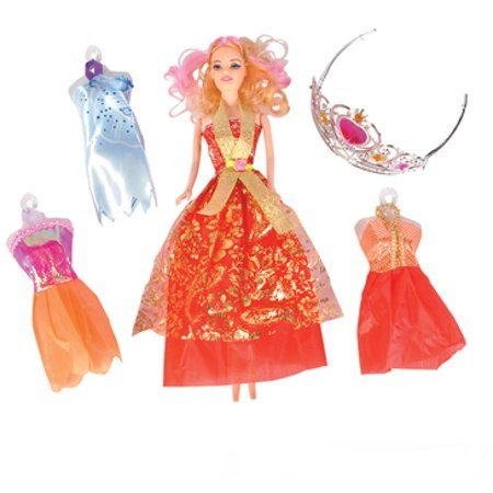 Likeable Girls Doll Set 8