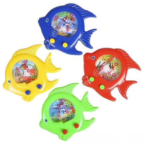 Fish Handheld Water Ring Game 12 ct