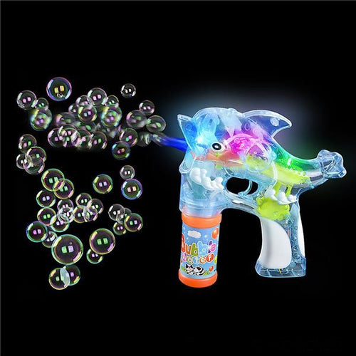 Dolphin Bubble Blaster Blower Gun & LED Lights