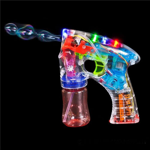 Light up Bubble Gun Blaster