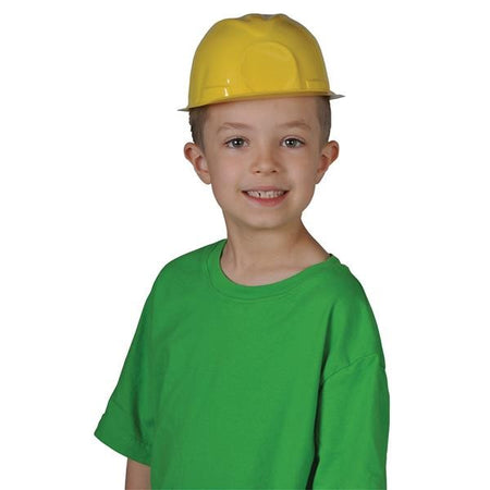 Children's Yellow Construction Hats 12 ct