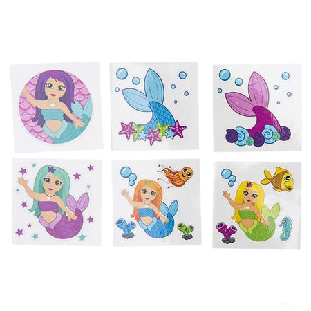Mermaid Tattoos 72 count