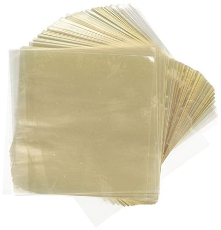 Cellophane Candy Wrappers, CLEAR 5x5, 900 count