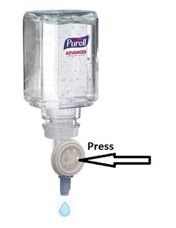 PURELL Advanced Instant Hand Sanitizer Gel Refill, 450mL