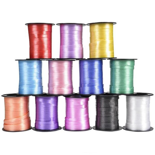 60' Curling Ribbon Assorted Colors 12 pk