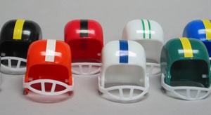 Football Helmets - Assorted 72 pcs.