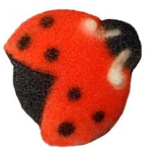 Edible Sugar Shapes - Lady Bugs