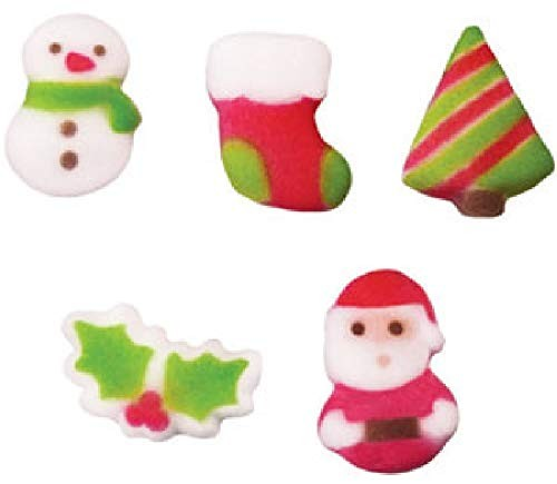 Christmas Cuties Sugar Shapes - 12 count