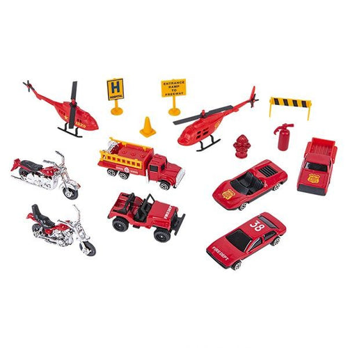Fire Team & Emergency Rescue 15 pc Set