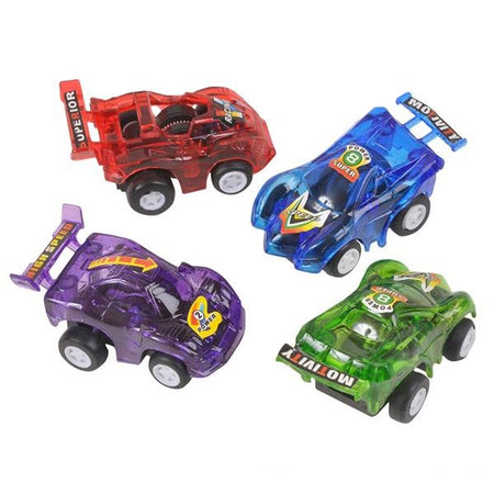 "2.5"" Pull Back Race Cars 12 pk"