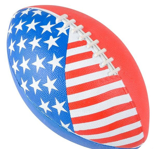 Red, White, & Blue Inflatable Football