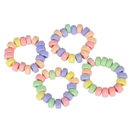 Stretchable Candy Bracelets with Display Box 72 ct