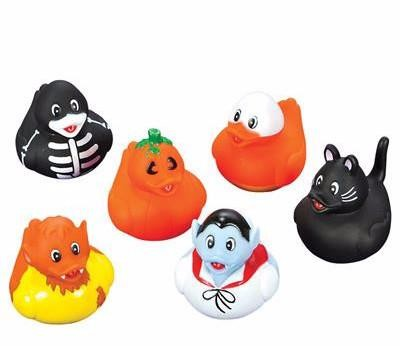 Halloween Rubber Ducks - 12 count