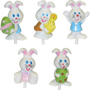 Easter Bunny 3D Happy Picks Asst