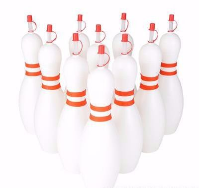 24-OUNCE PLASTIC BOWLING PIN SIPPER CUP - 1 PIECE