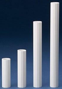 Coast Columns - Stacked Cake Tubes  - Single Plate System, SPS - Various Heights, 12 count