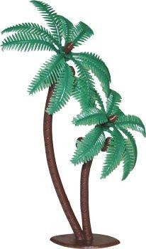 "Twin Coconut Palm Trees - 4"" - 12 Count or 72 Count"