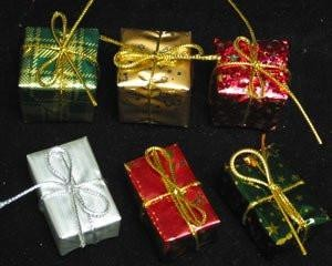 Wrapped Large Christmas Presents - 24ct