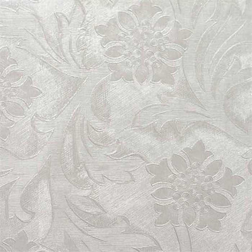 White Foil Wrap, Windsor Style Embossed- 1 Roll, 20