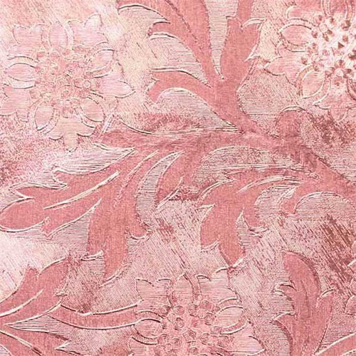 Pink Foil Wrap, Windsor Style Embossed- 1 Roll, 20