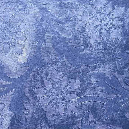 Royal Blue Embossed Florist Foil Wrap, 20