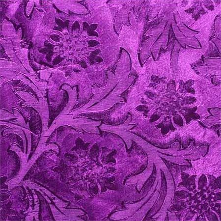 Purple Embossed Florist Foil Wrap, 20