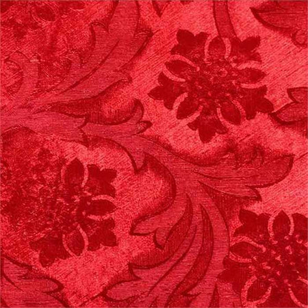 Red Embossed Florist Foil Wrap, 20