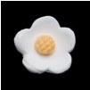 Blossoms - Medium- White Only 500 pcs