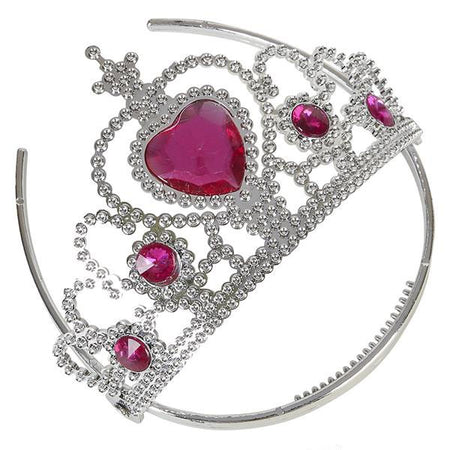 Heart Stone Tiara 12 ct