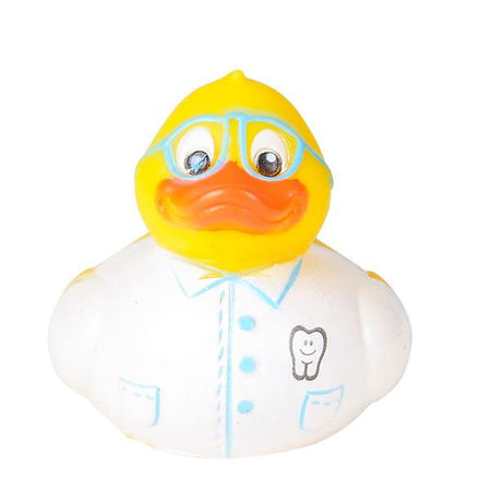 "2"" DENTAL RUBBER DUCKIES - 12 COUNT"