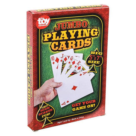 Jumbo Playing Cards 1 pack