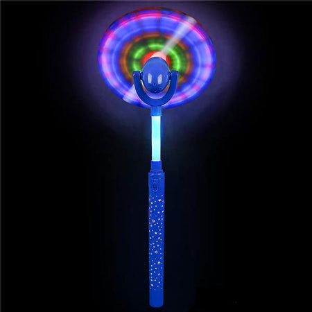 "15""  Multicolor Swivel Spinner Wand"