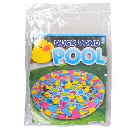 "3' X 6"" INFLATABLE DUCK POND POOL"