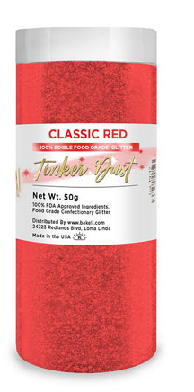 Tinker Dust Edible Glitter Refill Jar- Classic Red