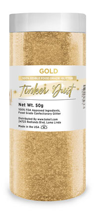Tinker Dust Edible Glitter Refill Jar- Gold