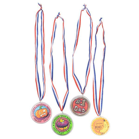 Design Your Own Medals 24 pk