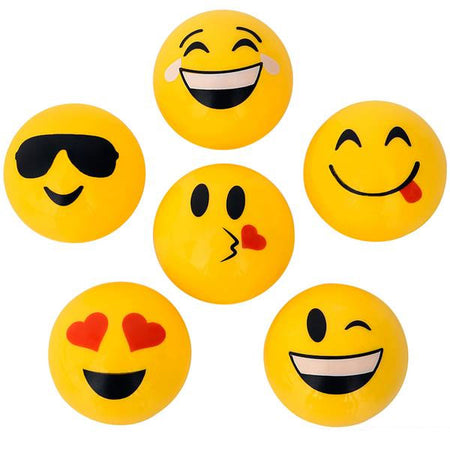 "1.5"" Emoticon Sharpeners 24 pk"
