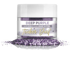 Tinker Dust Edible Glitter- 5 grams - Deep Purple