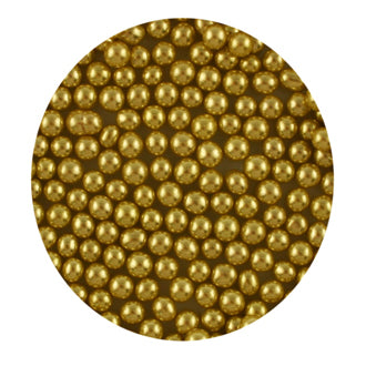Gold Dragees - Various sizes and amounts available