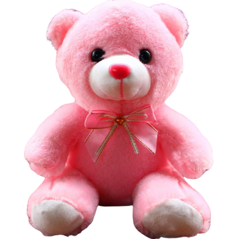 Nounours rose peluche ours rose