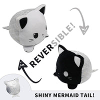 Peluche chat reversible