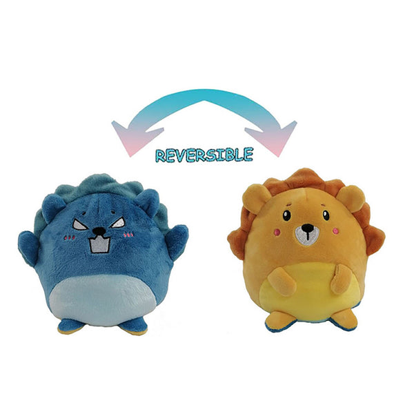 Peluche ours reversible