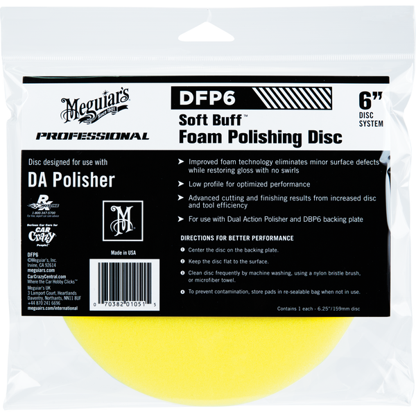 DA Foam Polishing Disc 6
