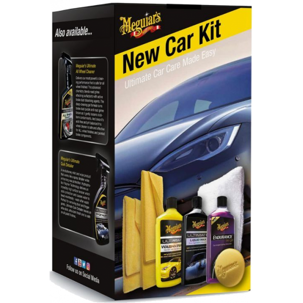 New Car Kit - Friis Carclean - Webshop - Bilpleje - Detailing - klargøring