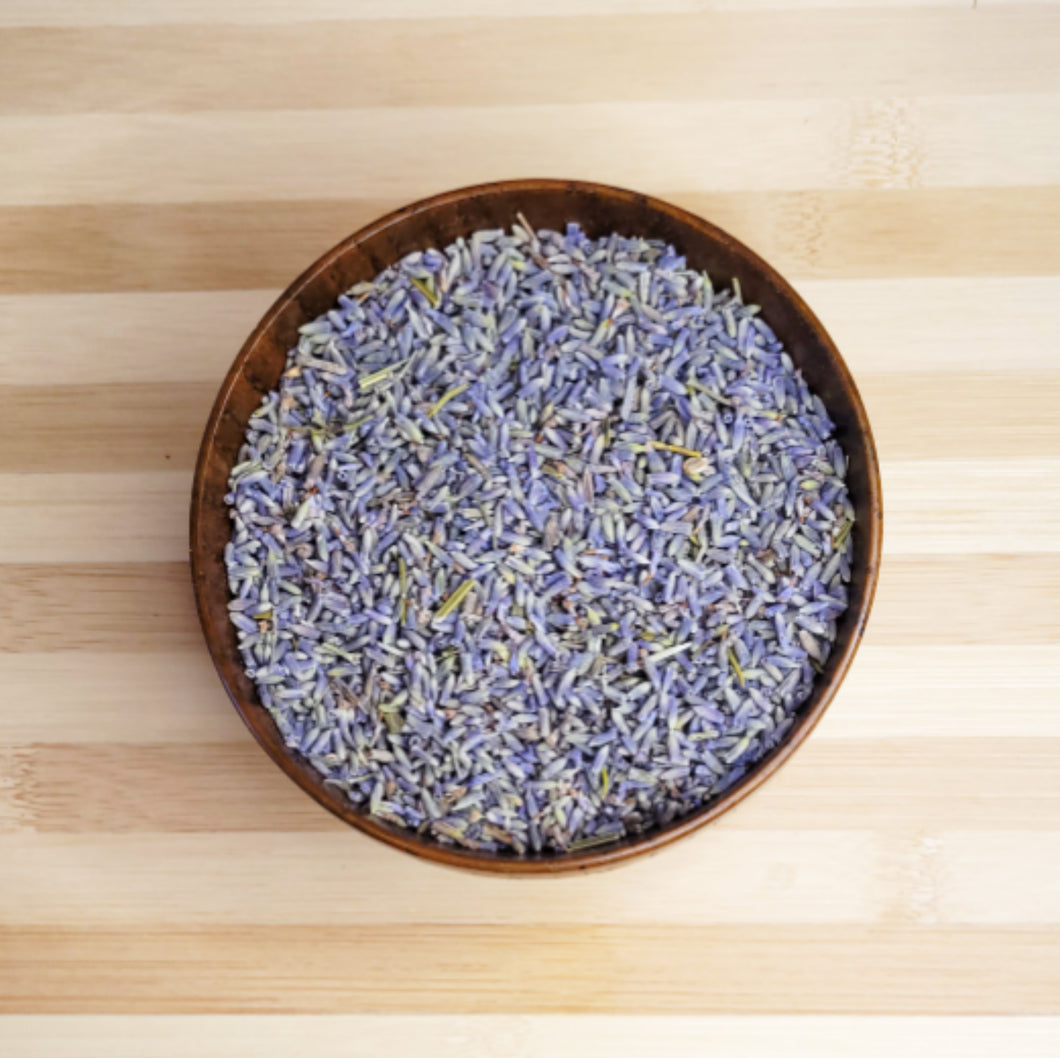 Lavender Flower (ultra) strong blue color, whole