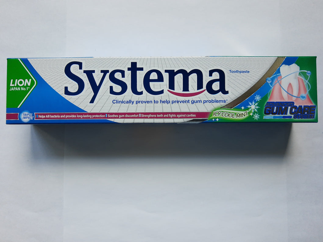 Systema Toothpaste Icy Cool Mint 160g