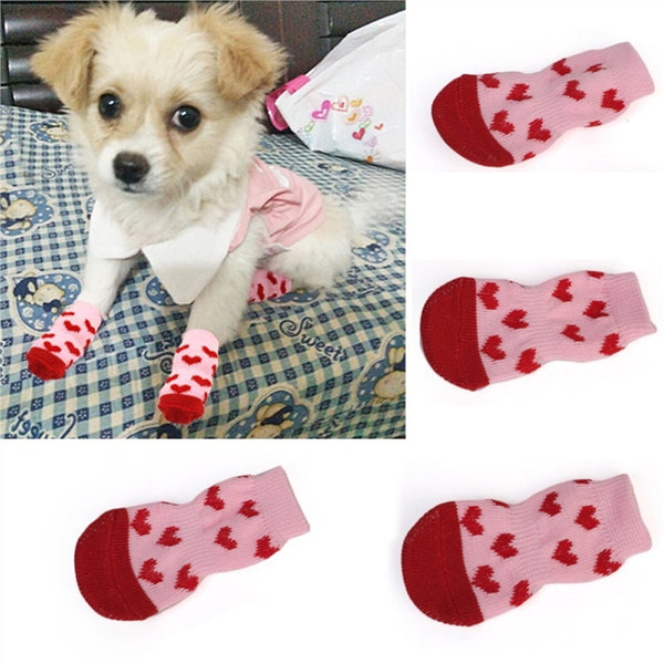 1 pair/4pcs Creative Pet socks for cat & Dog