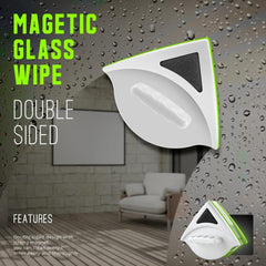 Double Sided Magnetic Window Glass Cleaner